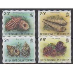 Océan Indien - 1996 - No 173/176 - Animaux marins