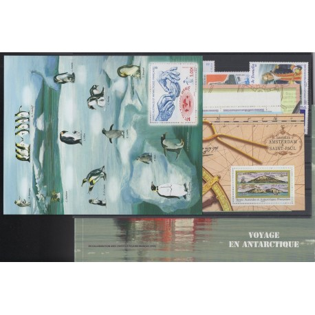 Stamps - French Southern and Antarctic Territories - Complete year - 2013 - Nb 641-685 et carnet voyage
