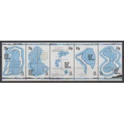 British Indian Ocean Territory - 1994 - Nb 145/149