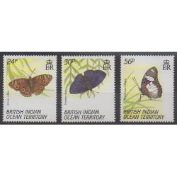 British Indian Ocean Territory - 1994 - Nb 150/152 - Insects