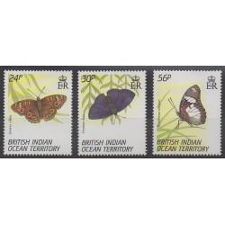 Océan Indien - 1994 - No 150/152 - Insectes
