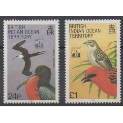 British Indian Ocean Territory - 1994 - Nb 143/144 - Birds - Philately