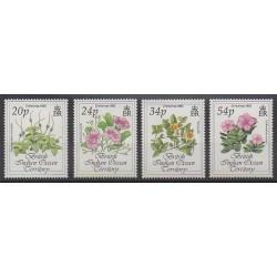 Océan Indien - 1993 - No 139/142 - Fleurs