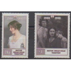 British Indian Ocean Territory - 1990 - Nb 106/107 - Royalty