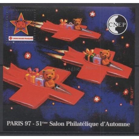 France - Feuillets CNEP - 1997 - No CNEP 25 - Santé ou croix-rouge