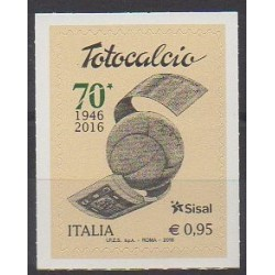 Italie - 2016 - No 3666 - Football