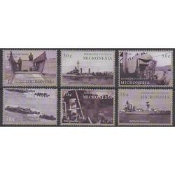 Micronésie - 2004 - No 1299/1304 - Seconde Guerre Mondiale