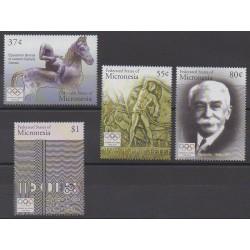 Micronésie - 2004 - No 1309/1312 - Jeux Olympiques d'été