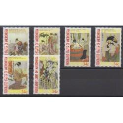 Micronésie - 2001 - No 996/1001 - Peinture