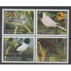 Micronésie - 1998 - No 535/538 - Oiseaux