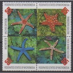 Micronésie - 1996 - No 413/416 - Animaux marins