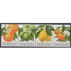Micronésie - 1996 - No 432/435 - Fruits ou légumes