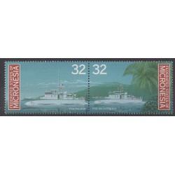 Micronesia - 1996 - Nb 417/418 - Boats