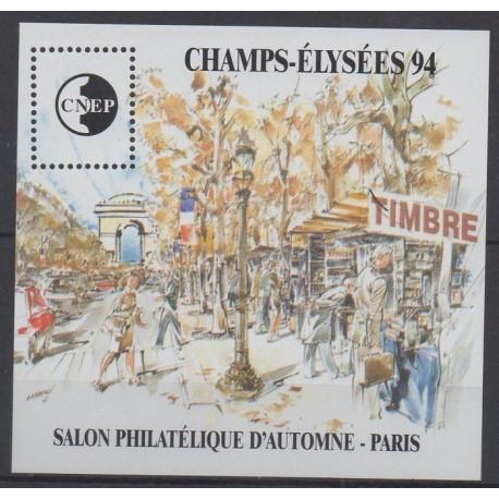 France - CNEP Sheets - 1994 - Nb CNEP 19 - Sites