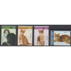 Micronesia - 2007 - Nb 1560/1563 - Cats