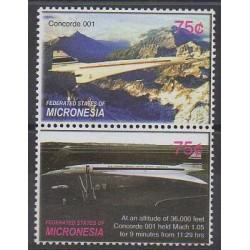 Micronésie - 2006 - No 1477/1478 - Aviation
