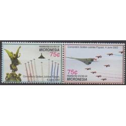 Micronésie - 2006 - No 1495A/1495B - Aviation