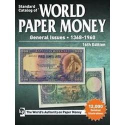 World paper money 1368-1960 (Krause - 21ème édition)