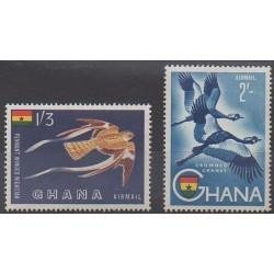 Ghana - 1959 - No PA5/PA6 - Oiseaux