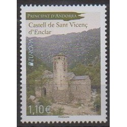 Andorre - 2017 - No 797 - Châteaux - Europa