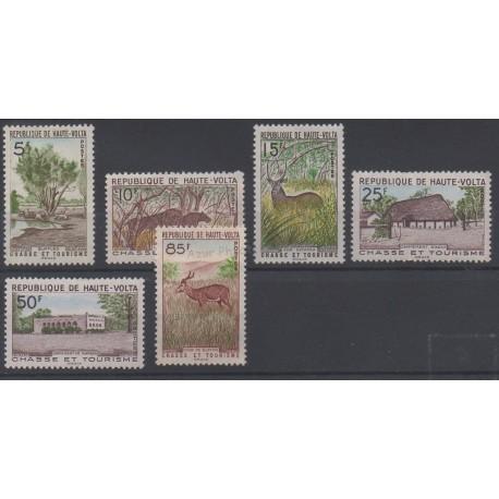 Haute-Volta - 1962 - No 97/102 - Sites