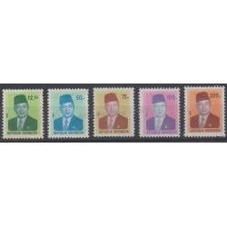 Indonésie - 1980 - No 878/882
