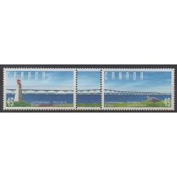 Canada - 1997 - Nb 1515/1516 - Bridges