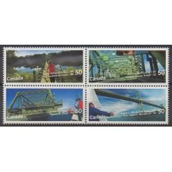 Canada - 2005 - Nb 2152/2155 - Bridges