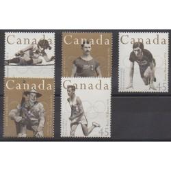 Canada - 1996 - No 1470/1474 - Jeux Olympiques d'été