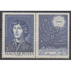 Hongrie - 1973 - No 2289 - Astronomie