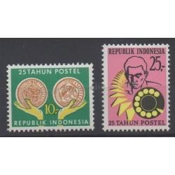 Indonésie - 1970 - No 602/603