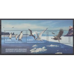 French Southern and Antarctic Lands - Blocks and sheets - 2017 - Nb F822 - Birds