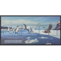 TAAF - Blocs et feuillets - 2017 - No F822 - Oiseaux