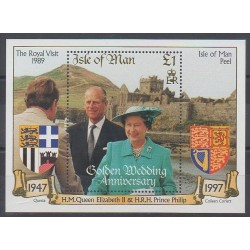 Man (Isle of) - 1997 - Nb BF34 - Coats of arms - Royalty