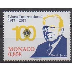 Monaco - 2017 - Nb 3095 - Rotary - Lions club