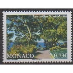 Monaco - 2017 - No 3092 - Parcs et jardins