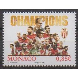 Monaco - 2017 - No 3111 - Football