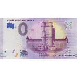 Billet souvenir - Château de Vincennes - 2018-1