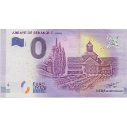 Euro banknote memory - Abbaye de Sénanque - 2018-1