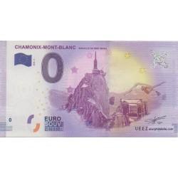 Billet souvenir - Aiguille du Midi 3842m - 2018-2