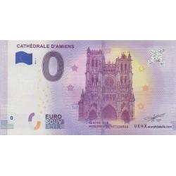 Billet souvenir - Cathédrale d'Amiens - 2018-1