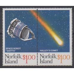 Norfolk - 1986 - Nb 376/377 - Astronomy