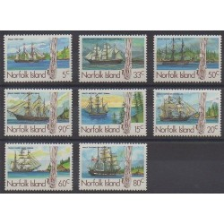 Norfolk - 1985 - Nb 352/359 - Boats
