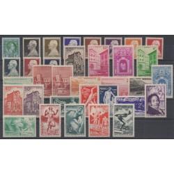Monaco - année complète - 1948 - No 301/323