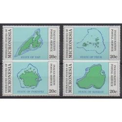 Micronésie - 1984 - No 17/20
