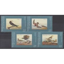 Micronésie - 1985 - No 29/32 - Oiseaux