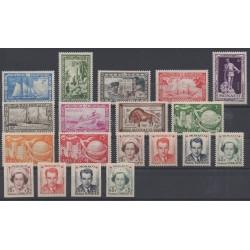 Monaco - complete year - 1949 - Nb 324/337B