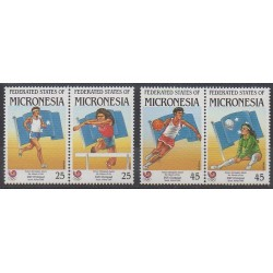 Micronésie - 1988 - No 53/56 - Jeux Olympiques d'été