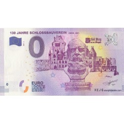 Euro banknote memory - DE - 130 Jahre Schlossbauverein - 2017-6