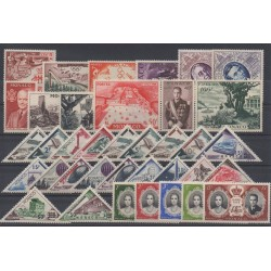 Monaco - complete year - 1956 - Nb 441/477
